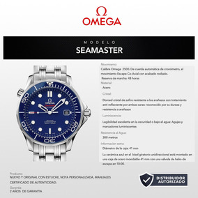 Reloj Omega 21230412003001 Seamaster James Bond 41mm Bauer