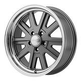 American Racing Vn527 Mag Cinza Volante Lábio Usinado (17x7