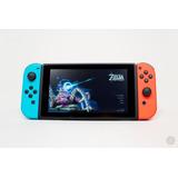 Nintendo Switch Trujillo Rojo Y Azul Neón Nuevo Garantía
