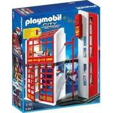 Estacion De Bomberos Con Alarma Playmobil