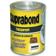 Cemento Contacto Pegamento Transparente Suprabond X 1 Litro