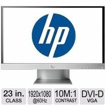 Nuevo Monitor Hp 23ix Plata Y Negro Ips Full Hd