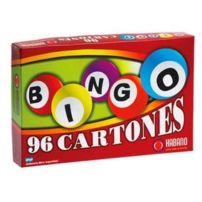 Juego De Mesa Bingo 96 Cartones Habano Para Jugar En Familia