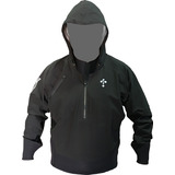 Campera Náutica Capucha Thermoskin Impermeable Y Respirable