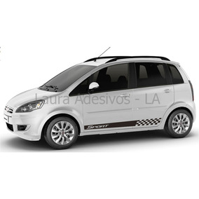 Adesivo Sport Fiat Idea Kit Faixa Lateral Tuning Acessórios