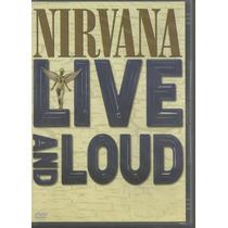 Dvd - Nirvana - Live And Loud - Lacrado
