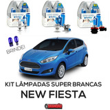 Kit Lâmpadas Super Brancas Techone 8500k New Fiesta