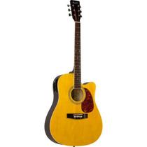 Violão Eletroacústico Folk Aço New Md18 Nt Memphis By Tagima
