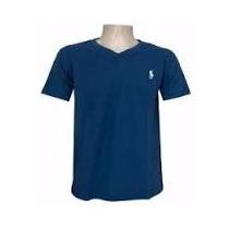 Kit 10 Camisas Gola V Masculina Primeira Linha