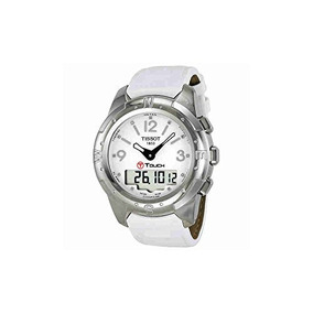 Tissot Mujer Tist T-touch Analog Display Suizo Cuarzo Blanc