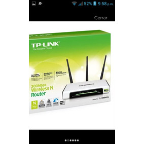 Router Tp Ling 3 Antenas 350 Mgb