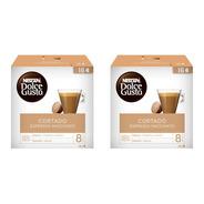 Capsulas Cafe Espresso Macchiato Nescafe Dolce Gusto 16u X2