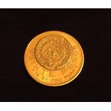 Solo Hoy Remato Moneda 20 Pesos 1918 15gr Oro Puro 100 Años