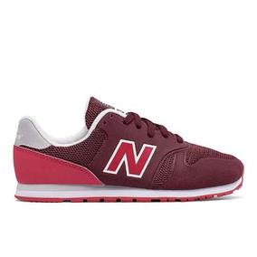 Tênis New Balance 373 Welded Infantil Vermelho Escuro