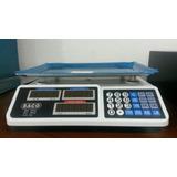 Balanza Peso Electronicos Digital Charcuteria Marca Saco