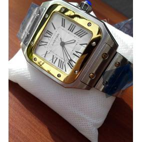 Reloj Cartier Santos Acero Caballero