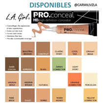 Correctores La Girl Pro Conceal Hd 100% Original