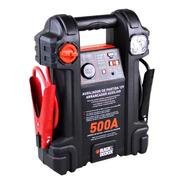 Auxiliar Partida 500a 12v Luz Emergência Js500s Black Decker