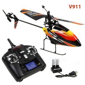 Melhor Mini Helicóptero Copter V911 Completo Original