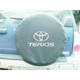 Forro De Caucho Toyota Terios En Semi Cuero Negro