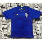 Camisa Brasil 2018 Copa Oficial Azul/amarela Nike