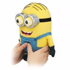 Peluches De Minions Ojos 3d Con Cancion Banana 23cm