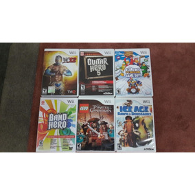 Consola Wii, Rock Band, Guitar Hero Y Volante Mariokart