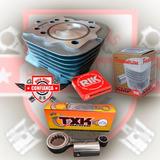 Kit Preparado Competicao Titan125 2002/08 C/pistão Cbx 200cc