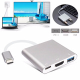 Adaptador Usb 3.1 Tipo C A Hdmi Usb 3.0 Mac Windows
