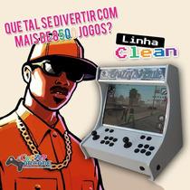 Nova Maquina Fliperama Mini Arcade Recalbox Completa 8500
