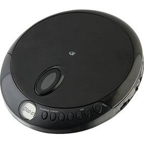 Gpx Pc301b Reproductor De Cd Portátil Con Auriculares Estér