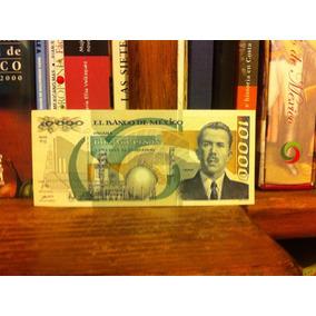 Billete 10,000 Pesos Lazaro Cárdenas Unc