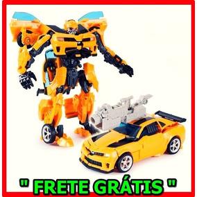 Bumblebee Boneco Transformers Vira Carro E Robô Frete Grátis