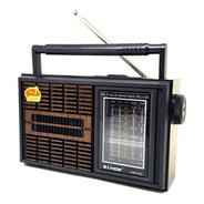 Radio Portátil Retro 3w 4 Bandas Am Fm Sw Tv Livstar Cnn966