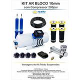 Kit Suspension Neumatica 10mm Tebao Inteligente Block V3!!!