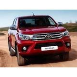 Toyota Hilux Dx 4x4 100% Financiado Roja