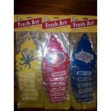 Ambientadores Para Vehiculos Pino Fresh Art !!