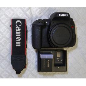 Câmera Canon T6s (corpo) + 01 Bateria Extra - Oferta!!!