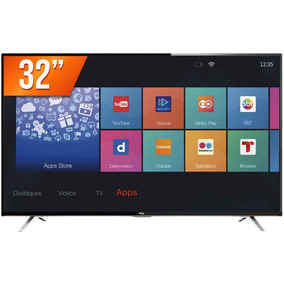 Smart Tv Led 32 Semp Tcl Hd 3 Hdmi 2 Usb Wi-fi L32s4900s