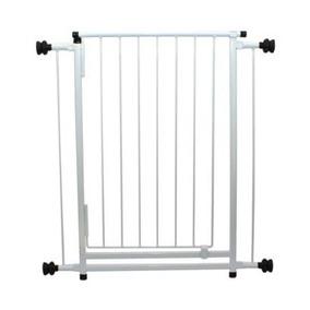 Portão Grade De Ferro Para Porta 70x77cm Com Extensor De 10c