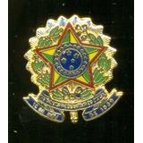 Brasão Da República Do Brasil Botom Broche Pin De Lapela