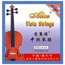 Set De Cuerdas Para Viola Marca Alice
