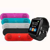 Kit Relógio Smartwatch + Caixa De Som Bluetooth Preta Pmcell