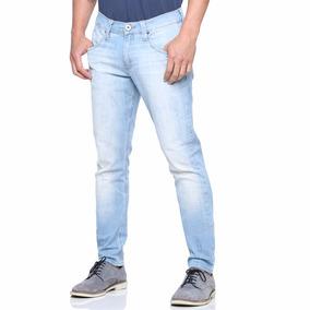 Calça Jeans Masculina Skinny Com Lycra Slim Grandes Marcas