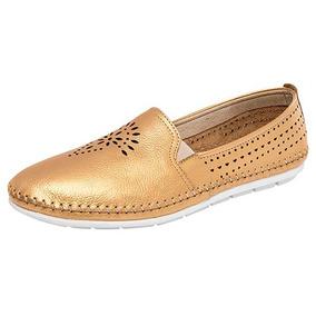 Zapato Casual Flexi Oro 75303 100% Originales