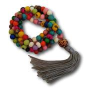 Japamala De Açaí Coloridas 108 Contas Ref: 9533(1 Unidade)