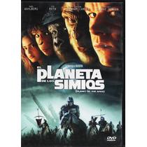 El Planeta De Los Simios - Tim Roth - Wahlberg - 2 Dvd´s