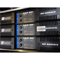 Amplificador Potencia Machine Sd 14.0 Similar Studio R X12