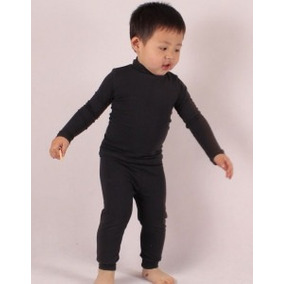 Blusa Térmica Bebe Nenem+calça Térmica Bebe Nenem Frio Neve