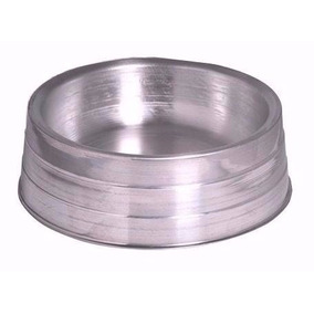 Comedouros Alumínio Pesado Cães Kit 2 Unidades N-3